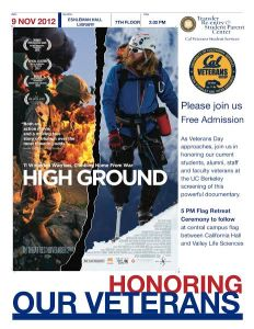 High Ground partnered with the UC Berkeley Student Veterans